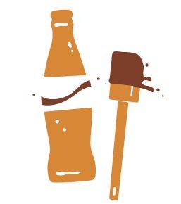 Gravy 48-Coca-Cola Fudge Cake graphic