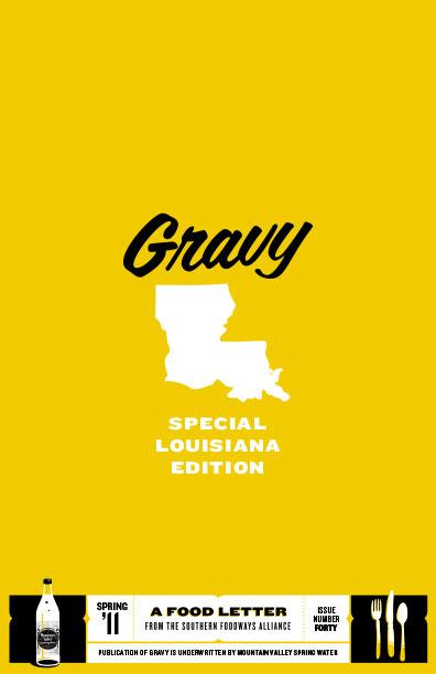 Gravy 40: The Louisiana Issue cover image