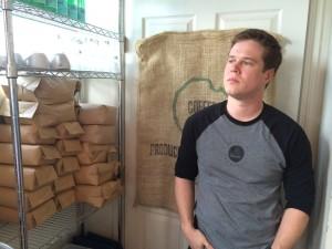 Pierce LaMacchia of KBrew Coffee.