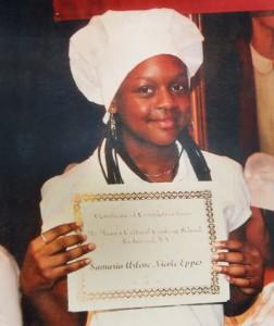 A graduate of Chef Ma Masu's Cultural Cooking School.