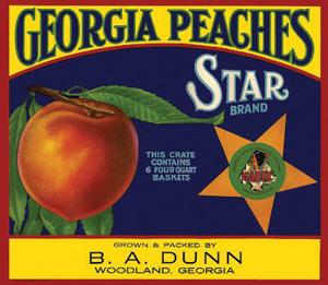 Georgia-Peaches-Star