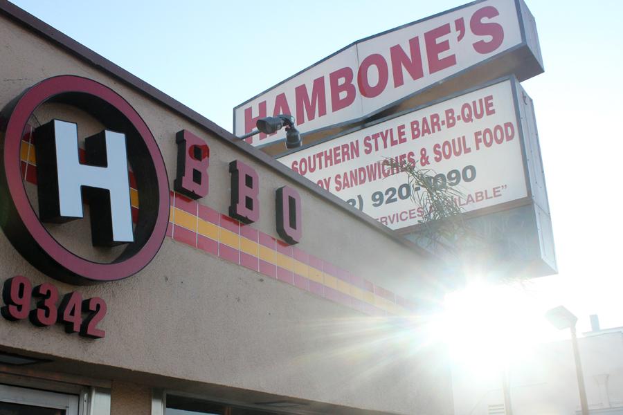 Hambone's. Photo by Lena Nozizwe, copyright 2015.