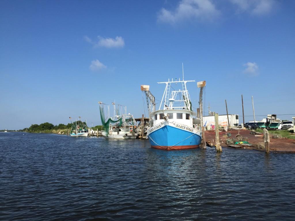 Hopedale Canal in St. Bernard Parish, Louisiana. Photo by Laine Kaplan-Levenson.