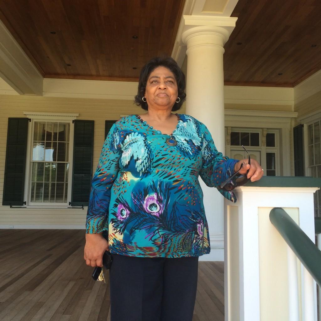 Shirley Sherrod at Resora Plantation.