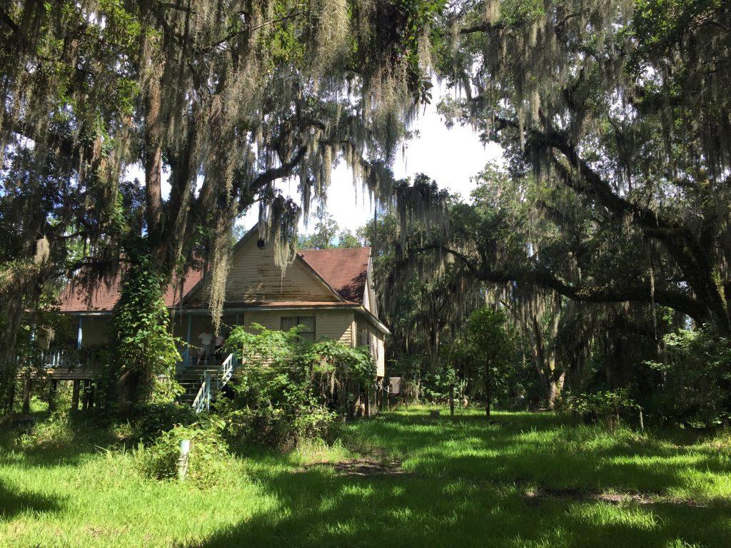 Patricia Alexi's house in Jean Lafitte, Louisiana.