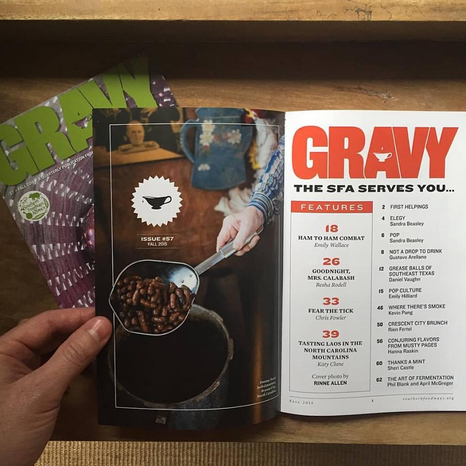 Gravy #57, fall 2015