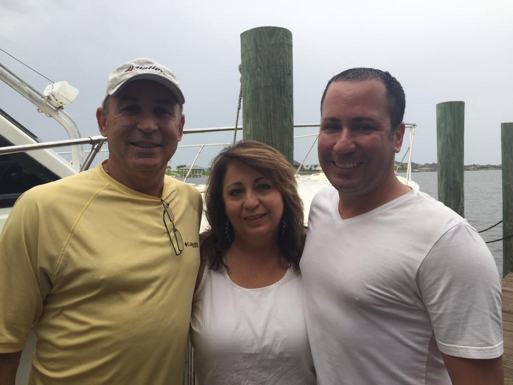 Tony and Kathy Goutierrez with their son, Justin.